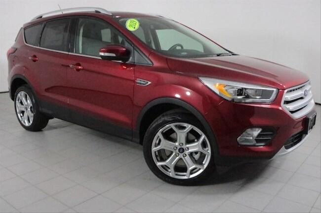 New 2019 Ford Escape Titanium SUV in Peoria, IL