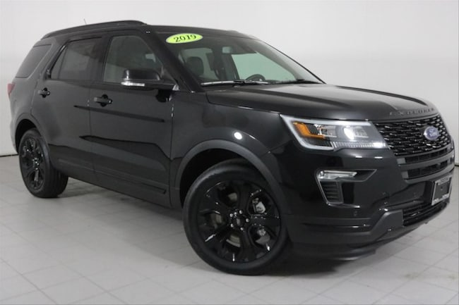 New 2019 Ford Explorer Sport SUV in Peoria, IL