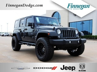 New 2018 Jeep Wrangler Unlimited WRANGLER JK UNLIMITED SPORT S 4X4 Sport Utility ET1495 Only @ Finnegan! Call 281-342-9318 to Reserve This One!