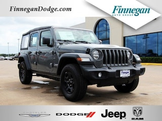 New 2018 Jeep Wrangler UNLIMITED SPORT 4X4 Sport Utility E6246 Only @ Finnegan! Call 281-342-9318 to Reserve This One!