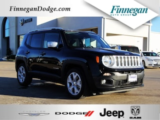 New 2018 Jeep Renegade LIMITED 4X2 Sport Utility E6615 Only @ Finnegan! Call 281-342-9318 to Reserve This One!