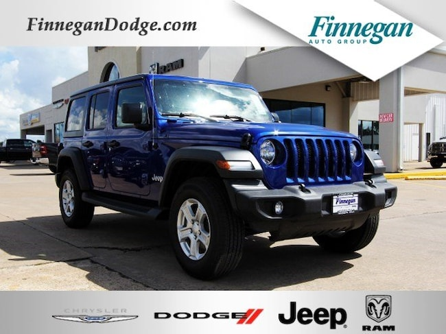 DYNAMIC_PREF_LABEL_AUTO_NEW_DETAILS_INVENTORY_DETAIL1_ALTATTRIBUTEBEFORE 2018 Jeep Wrangler UNLIMITED SPORT S 4X4 Sport Utility Only @ Finnegan! Call 281-342-9318 to Reserve This One!