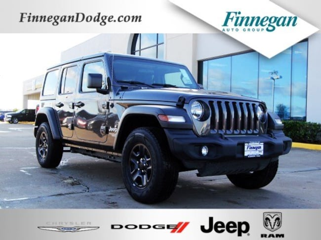 DYNAMIC_PREF_LABEL_AUTO_NEW_DETAILS_INVENTORY_DETAIL1_ALTATTRIBUTEBEFORE 2018 Jeep Wrangler UNLIMITED SPORT 4X4 Sport Utility Only @ Finnegan! Call 281-342-9318 to Reserve This One!