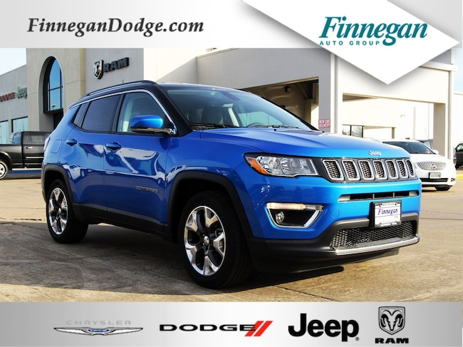 DYNAMIC_PREF_LABEL_AUTO_NEW_DETAILS_INVENTORY_DETAIL1_ALTATTRIBUTEBEFORE 2019 Jeep Compass LIMITED FWD Sport Utility Only @ Finnegan! Call 281-342-9318 to Reserve This One!