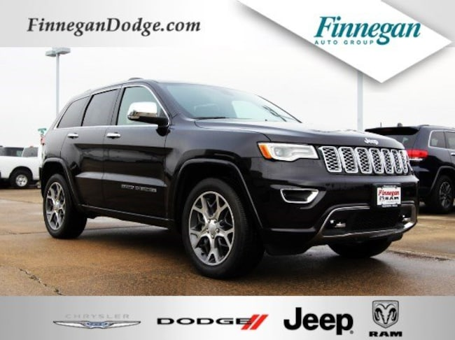 DYNAMIC_PREF_LABEL_AUTO_NEW_DETAILS_INVENTORY_DETAIL1_ALTATTRIBUTEBEFORE 2019 Jeep Grand Cherokee OVERLAND 4X4 Sport Utility Only @ Finnegan! Call 281-342-9318 to Reserve This One!