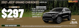 2021 Jeep Grand Cherokee Laredo 4x4 - Lease For $297/month!