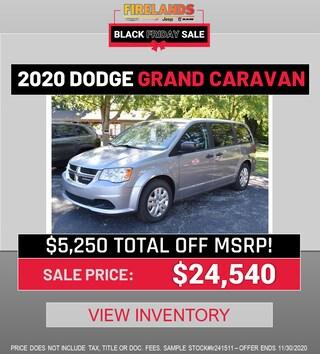 2020 DODGE CARAVAN - $5,250 TOTAL OFF MSRP!