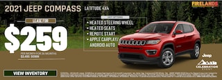 2021 Jeep Compass Latitude 4x4 - $259/month!