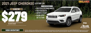 2021 Jeep Cherokee Latitude Lux - Lease For $279/mo!
