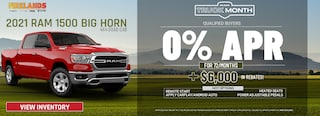 2021 Ram 1500 Big Horn 4X4 - $6,000 OFF IN REBATES!