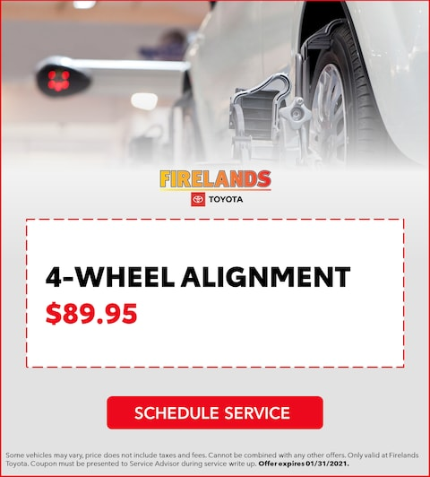 4-Wheel Alignment - $89.95