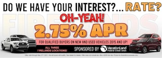 2.75% APR FOR QUALIFIED BUYERS!