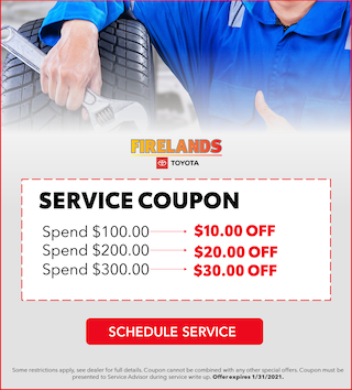 Service Coupon - Variable Savings!