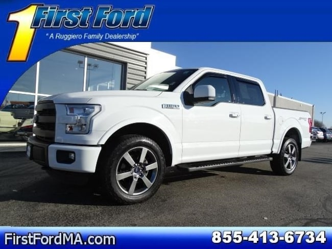 Certified Used 2015 Ford F-150 Lariat Truck in North Attleboro