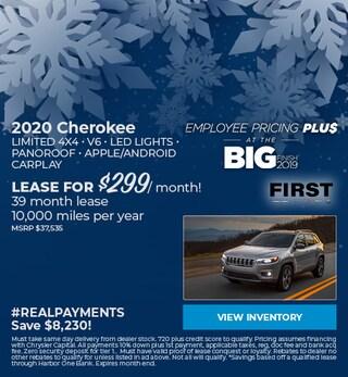 December 2020 Cherokee Lease