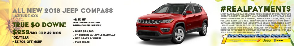 March 2019 Jeep Compass