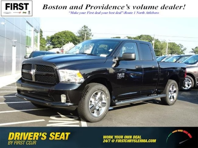 New 2019 Ram 1500 CLASSIC EXPRESS QUAD CAB 4X4 6'4 BOX Quad Cab in North Attleboro