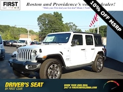 New 2018 Jeep Wrangler UNLIMITED SAHARA 4X4 Sport Utility in North Attleboro