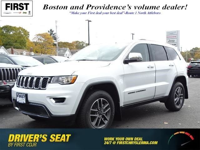 New 2019 Jeep Grand Cherokee LIMITED 4X4 Sport Utility in North Attleboro