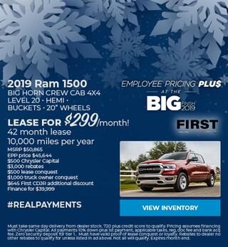 December 2019 Ram 1500 Lease