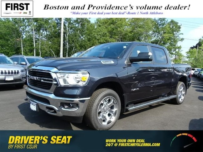 New 2019 Ram 1500 BIG HORN / LONE STAR CREW CAB 4X4 5'7 BOX Crew Cab in North Attleboro