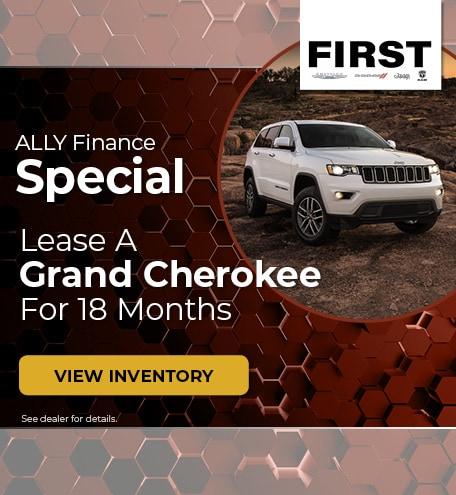 October 2019 Jeep Grand Cherokee Finance