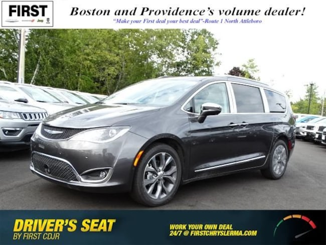 New 2019 Chrysler Pacifica LIMITED Passenger Van in North Attleboro