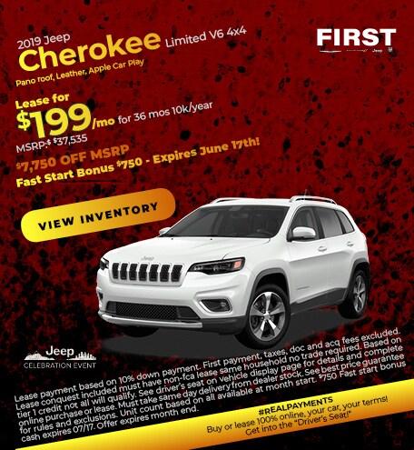 June 2019 Cherokee