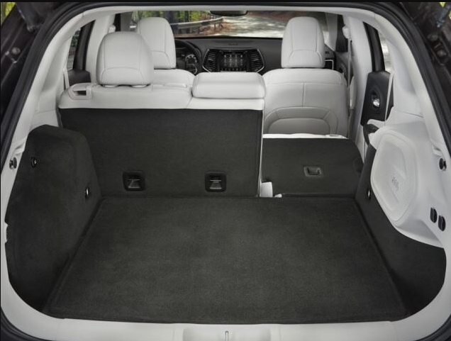 Jeep Cherokee Cargo Space