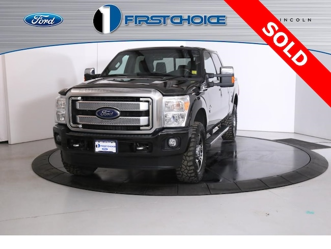 Used 2016 Ford F-350SD Platinum Truck for sale in Rock Springs, WY