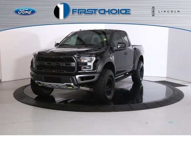 Used 2018 Ford F-150 Raptor Truck for sale in Rock Springs, WY