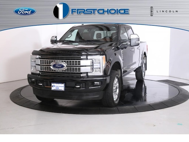 Used 2018 Ford F-350SD Platinum Truck for sale in Rock Springs, WY