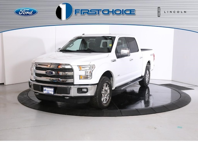 Used 2016 Ford F-150 Lariat Truck for sale in Rock Springs, WY
