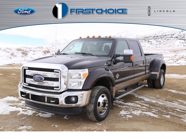 Used 2014 Ford F-450SD Lariat Truck for sale in Rock Springs, WY