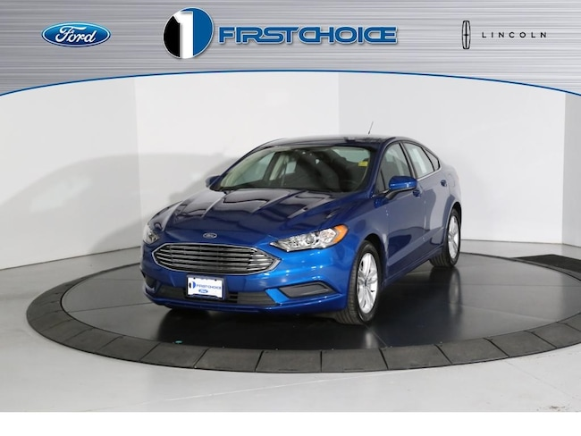 Used 2018 Ford Fusion SE Sedan for sale in Rock Springs, WY