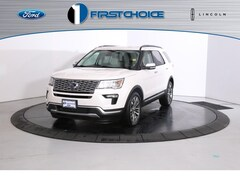 New 2019 Ford Explorer Platinum SUV 1FM5K8HT5KGA96193 for sale near Rock Springs, WY