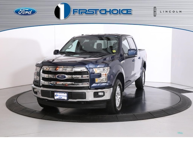Used 2017 Ford F-150 Lariat Truck for sale in Rock Springs, WY