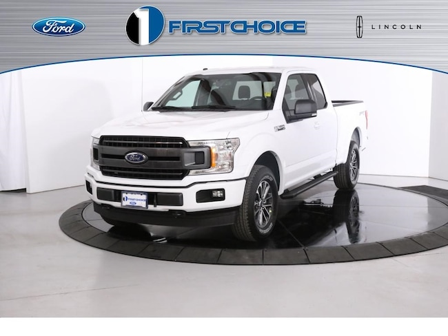 New 2018 Ford F-150 XLT Truck 1FTEX1EP1JKG10976 for sale in Rock Springs, WY
