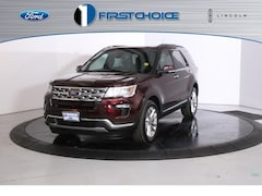 New 2019 Ford Explorer Limited SUV 1FM5K8FH7KGB08312 for sale near Rock Springs, WY