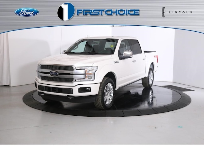 New 2019 Ford F-150 Platinum Truck 1FTEW1E45KFB17255 for sale in Rock Springs, WY