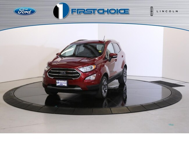 Used 2018 Ford EcoSport Titanium SUV for sale in Rock Springs, WY