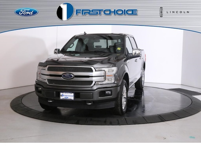 New 2019 Ford F-150 Platinum Truck 1FTEW1E46KFA87196 for sale in Rock Springs, WY