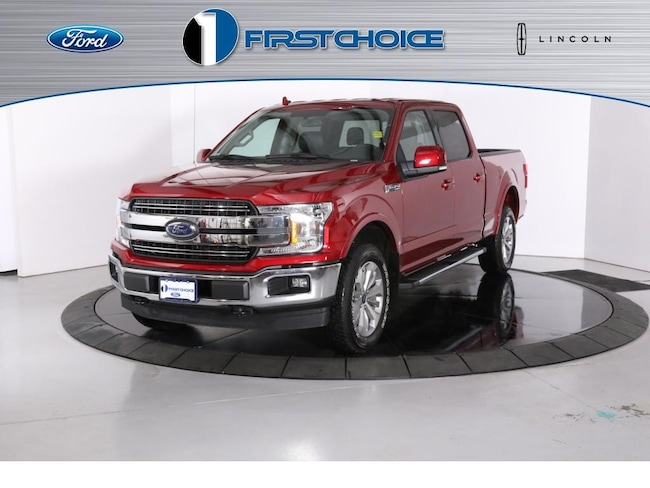 New 2018 Ford F-150 Lariat Truck 1FTFW1EG8JKF58172 for sale in Rock Springs, WY