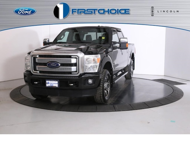 Used 2015 Ford F-350SD Platinum Truck for sale in Rock Springs, WY