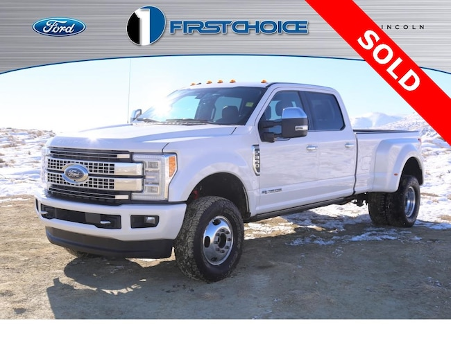 Used 2017 Ford F-350SD Platinum Truck for sale in Rock Springs, WY