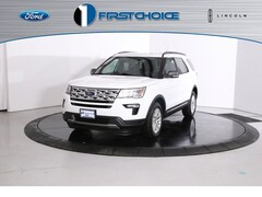 New 2019 Ford Explorer XLT SUV 1FM5K8D88KGA89594 for sale near Rock Springs, WY