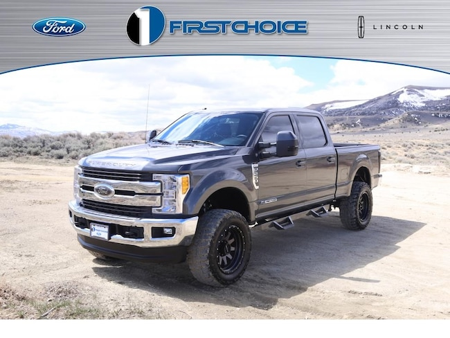 Used 2017 Ford F-250SD Lariat Truck for sale in Rock Springs, WY