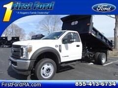 New 2019 Ford F-550SD Truck Fall River Massachusetts