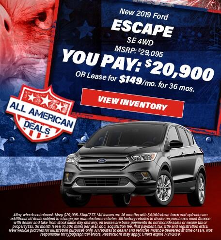 July 2019 Escape You Pay 20,900