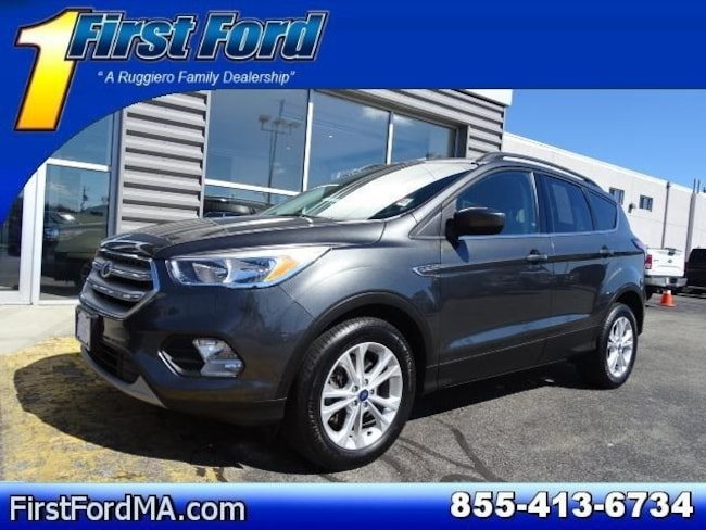 Certified Used 2018 Ford Escape SE 4WD SUV For Sale Fall River, MA